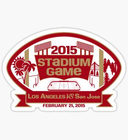 2015 SF Stadium Game Sticker