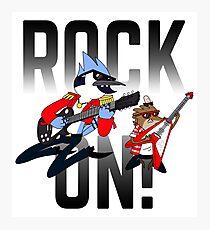 Rock On! Photographic Print