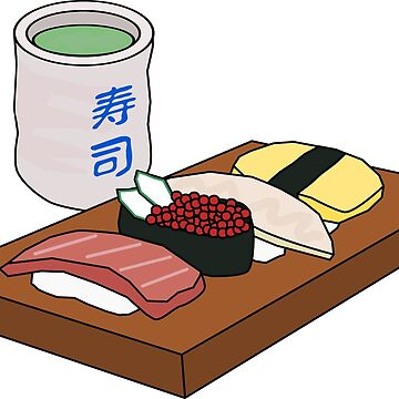 Sushi Night by Tonbbo