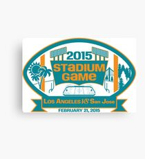 2015 SJ Stadium Game Canvas Print