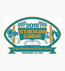 2015 SJ Stadium Game Photographic Print