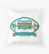 2015 SJ Stadium Game Throw Pillow