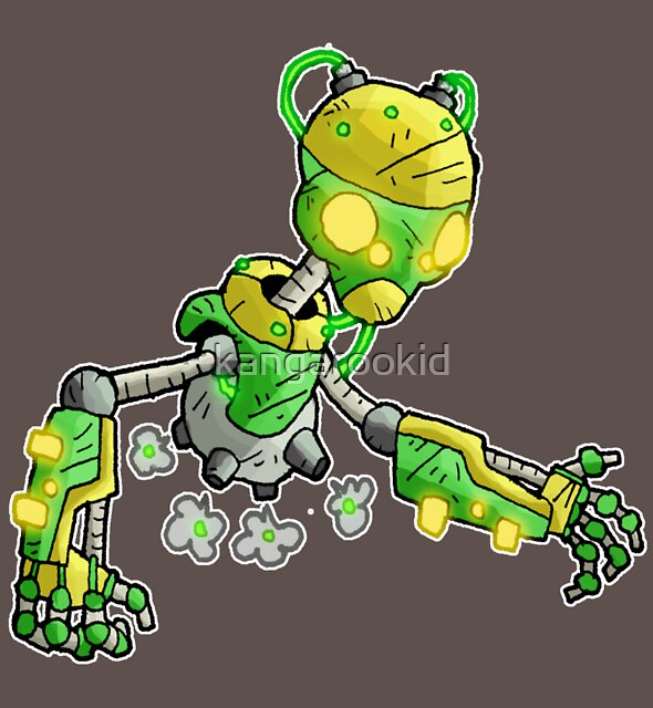 gardener bot I by kangarookid