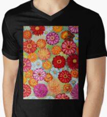 Summer Garden Men's V-Neck T-Shirt