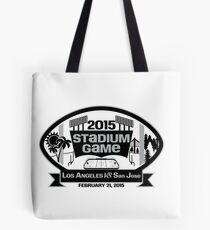 2015 LA Stadium Game - Black Text Tote Bag