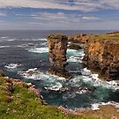 Yesnaby Castle Sea Stack. West Mainland Orkney. Scotland. by PhotosEcosse