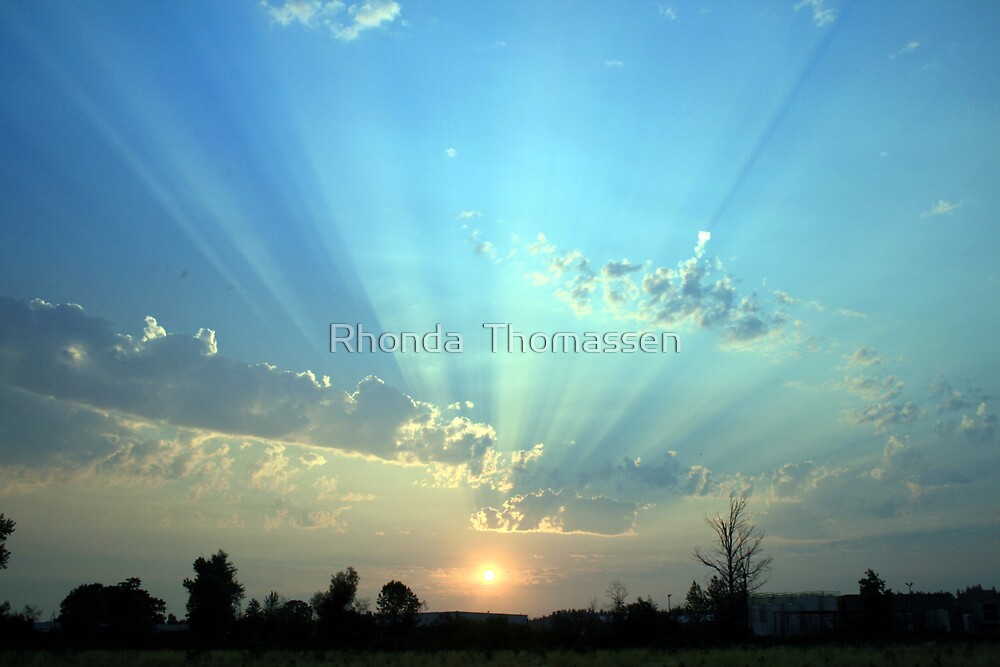 By the dawn's early light by Rhonda  Thomassen