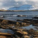 Hoy from Ness Point, Stromness. Ward Hill. Mainland Orkney. Scotland. by PhotosEcosse