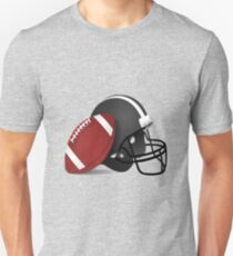American Football Rugby Gridiron Design  T-Shirt