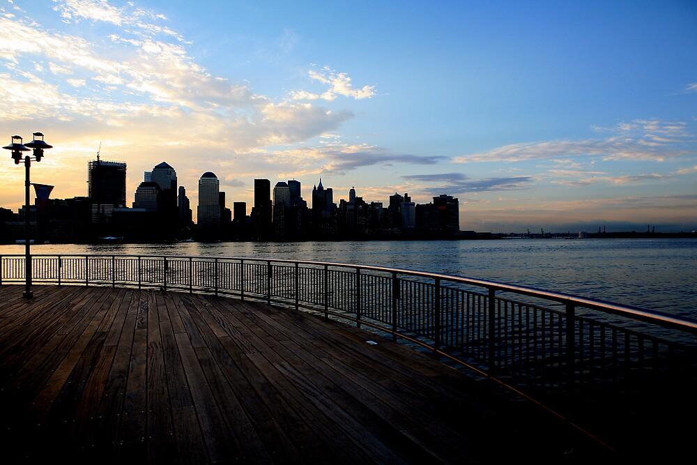 Clouds over Manhattan by pmarella