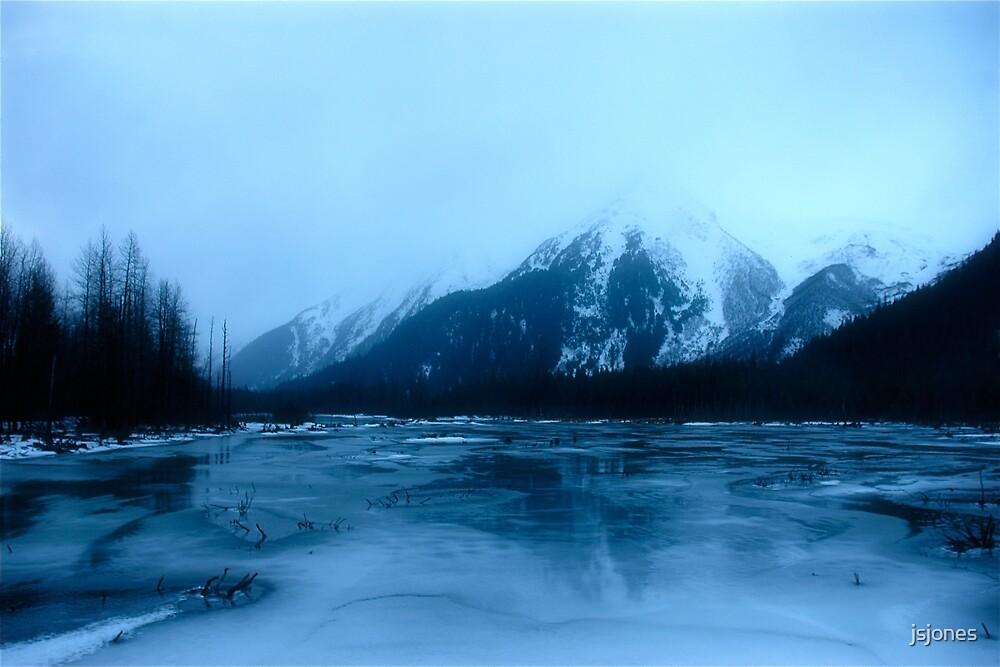 Trail of Blue Ice by jsjones
