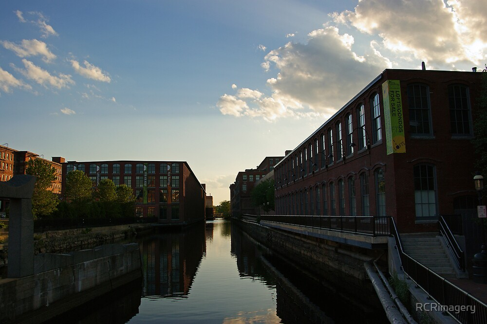 Mills on the Canal by RCRimagery