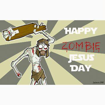 Happy Zombie Jesus Day by Sciryn