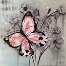Butterfly Abounds by TeresaCashArt