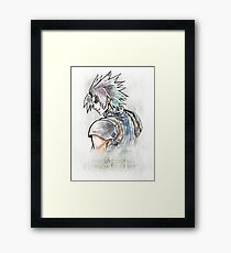 Final Fantasy VII Quote - Zack Fair Framed Print