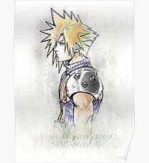 Final Fantasy VII - Cloud Strife Poster