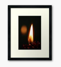 Light Energy Framed Print