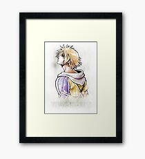 Final Fantasy X Quote - Tidus Framed Print