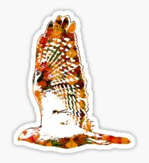 Red Tailed Hawk Sticker