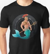 merman t shirts redbubblegladiator merman slim fit t shirt