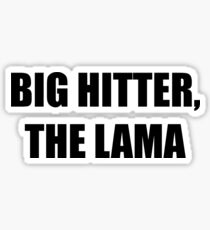 Caddyshack - Big Hitter, The Lama Sticker