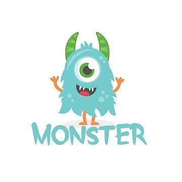 Monster - Aqua Child v1 by hawklawson