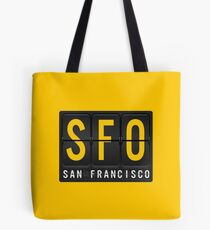 SFO - San Francisc Airport Code Tote Bag