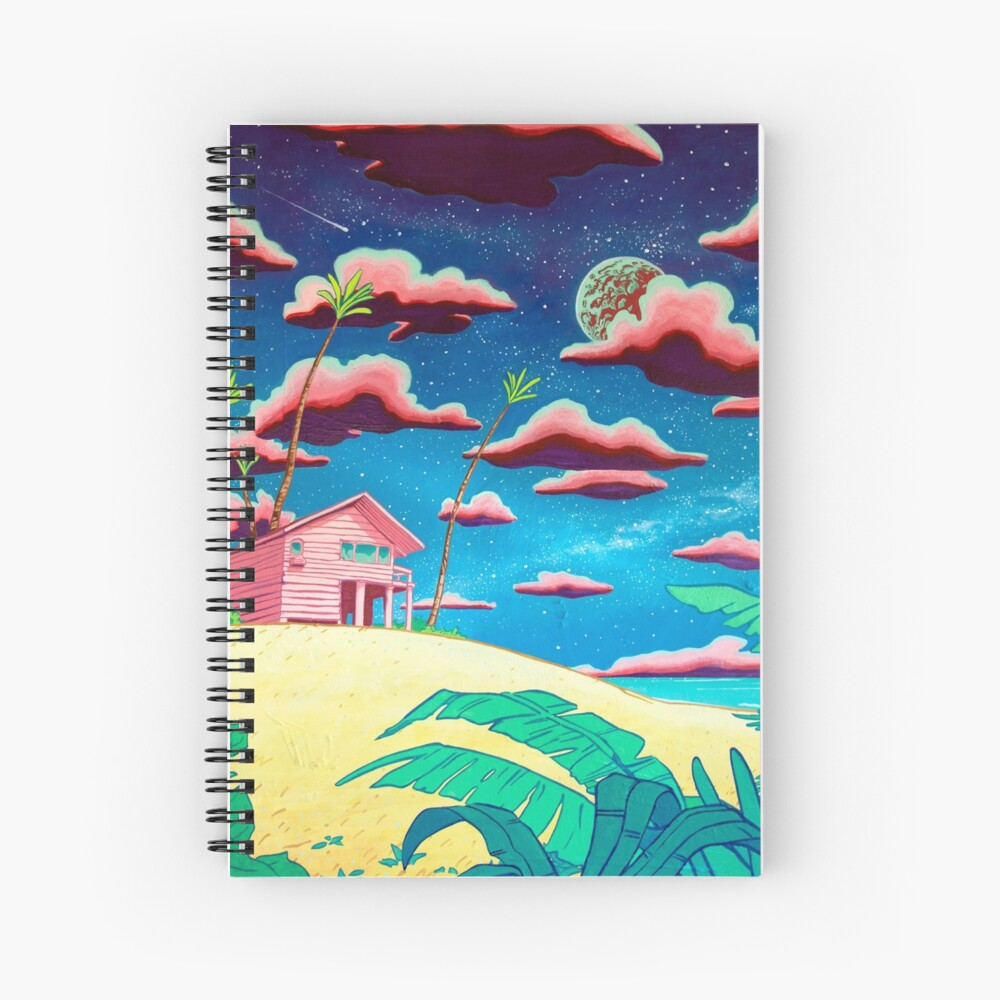 bungalow Spiral Notebook