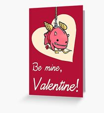 Low-Rent Cupid Greeting Card