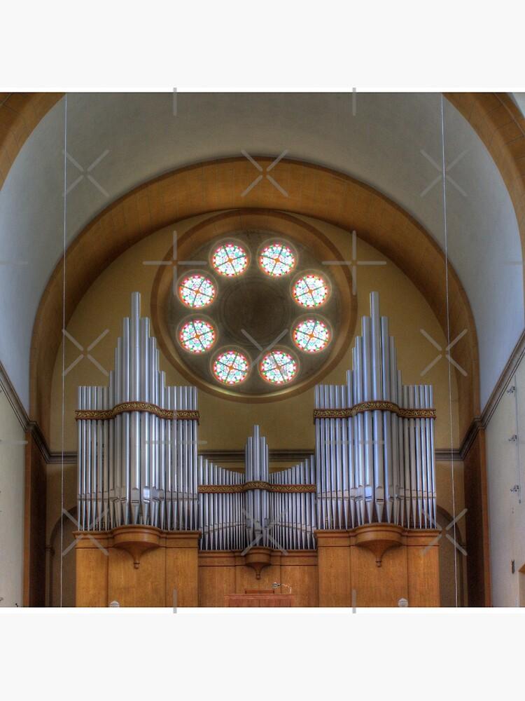 Pipe Organ St. Francis of Assisi Church, Vienna Austria by Mythos57