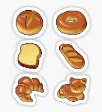 Pixel Bread Sticker