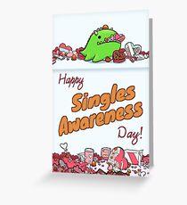 Singles Awareness Day Greeting Card