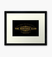 Trading Places - The Heritage Club Framed Print