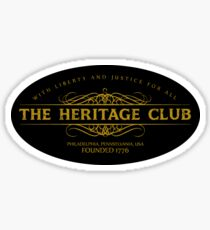 Trading Places - The Heritage Club Sticker