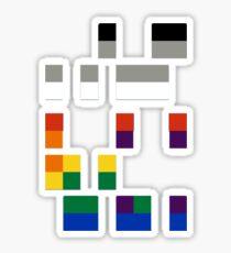 Coldplay Baudot Code Sticker