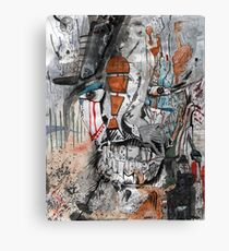 Servator Abstract Painting Canvas Print