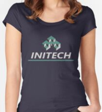 Office Space - Initech Women's Fitted Scoop T-Shirt