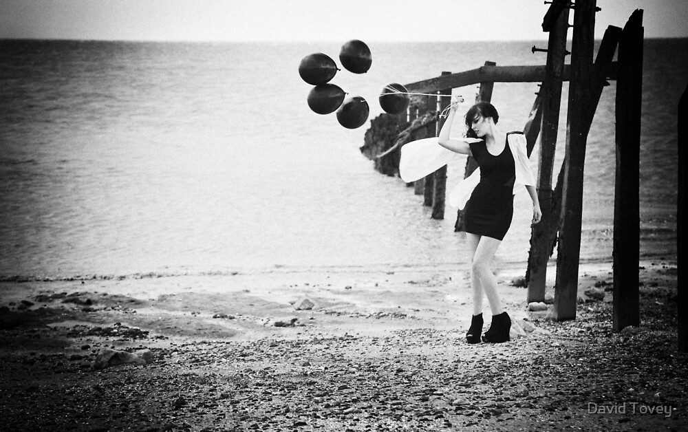 Black Balloons by David Tovey
