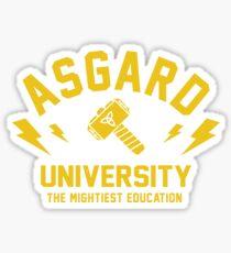 Asgard University - The Mightiest Education Sticker