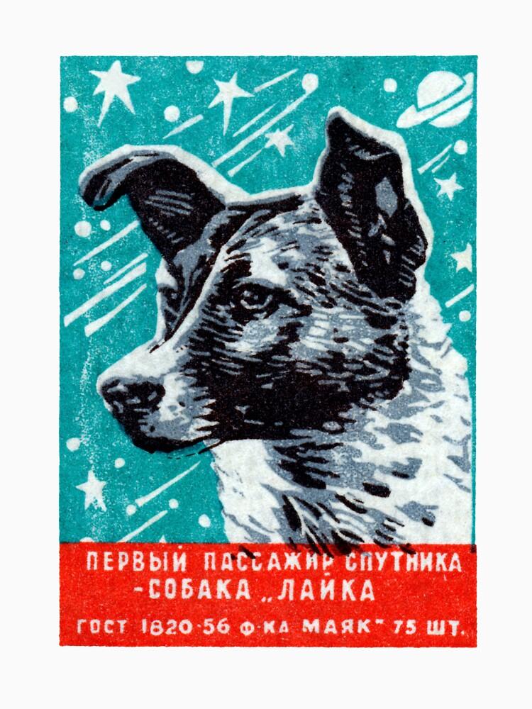 1957 Laika der Space Dog von historicimage