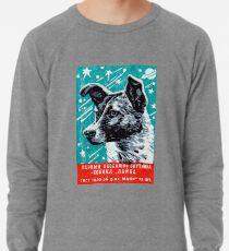 1957 Laika der Space Dog Leichtes Sweatshirt