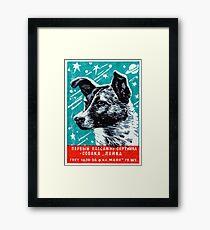 1957 Laika the Space Dog Framed Print