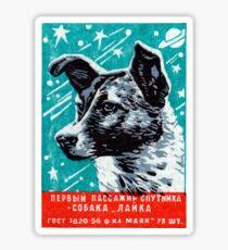 1957 Laika the Space Dog Sticker