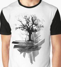 Grunge Tree Graphic T-Shirt