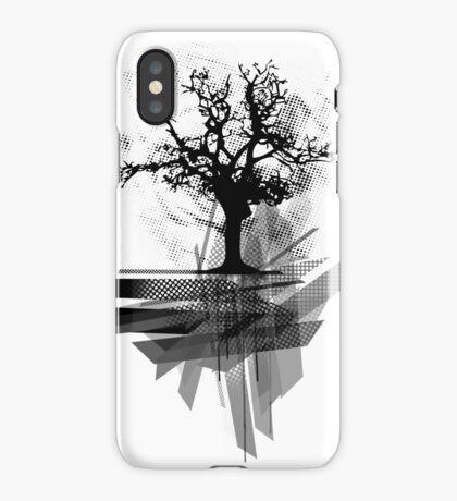 Grunge Tree iPhone Case/Skin
