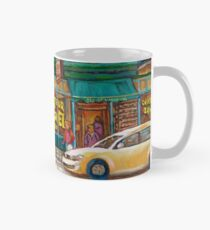 CANADIAN PAINTINGS BY CANADIAN ARTIST OF MONTREAL WINTER SCENES Mug