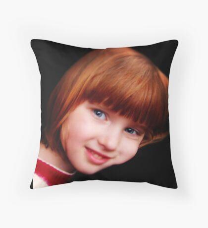 Portrait: Siobhan Throw Pillow