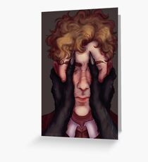Madness Within Greeting Card