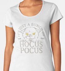 Cat Halloween Hocus Pocus Women's Premium T-Shirt
