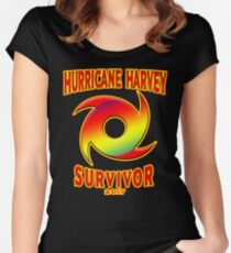 Texas Strong - Hurricane Harvey Survivor Relief Effort T-shirt Women's Fitted Scoop T-Shirt